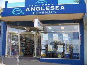 Anglesea Pharmacy shopfront